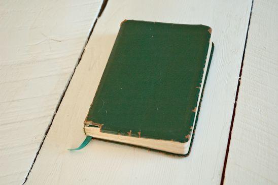 Bible, top view