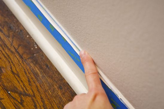 Taping:Caulking