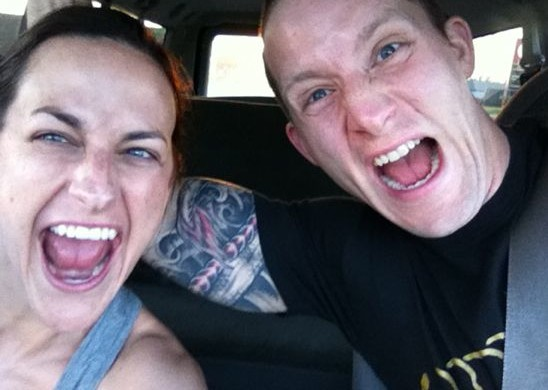 Kayle and Rebekah Celebrate